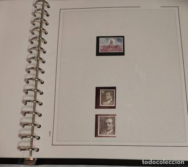 Sellos: Álbum de sellos FILABO 15 anillas con algun sello y 30 hojas en blanco - Foto 13 - 194270910