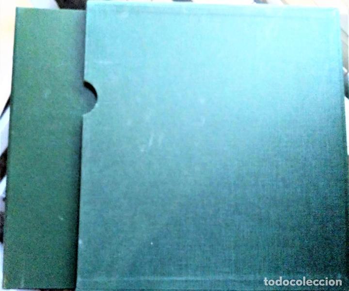 Sellos: Álbum de Sellos Edifil, color verde y título España + Cajetín protector. Nuevo - Foto 2 - 194650240