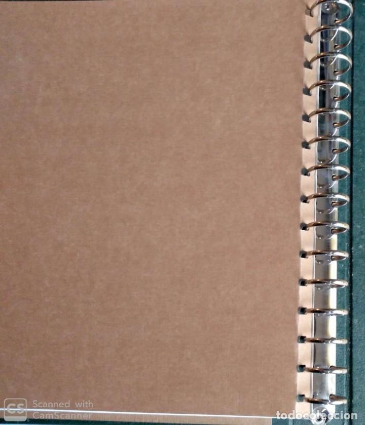 Sellos: Álbum de Sellos Edifil, color verde y título España + Cajetín protector. Nuevo - Foto 3 - 194650240