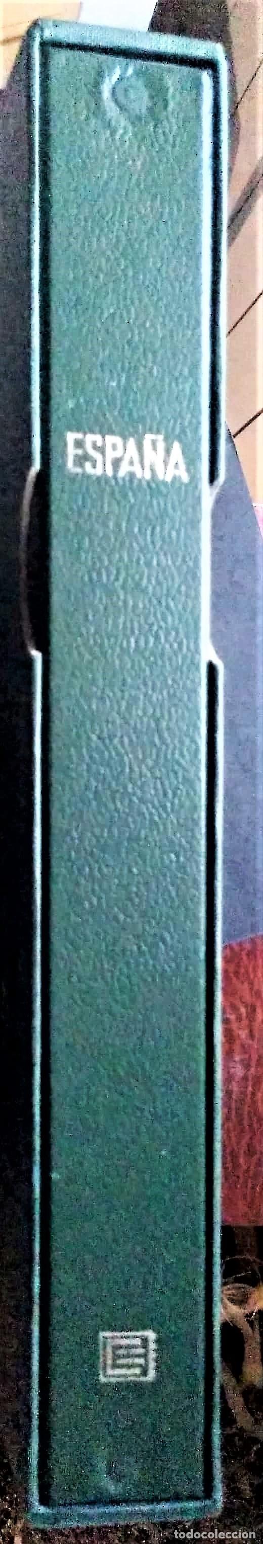 ÁLBUM DE SELLOS EDIFIL, COLOR VERDE Y TÍTULO ESPAÑA + CAJETÍN PROTECTOR. NUEVO (Sellos - Material Filatélico - Álbumes de Sellos)