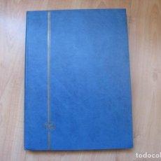 Sellos: CLASIFICADOR 16 HOJAS 32 PÁGINAS. Lote 194991606