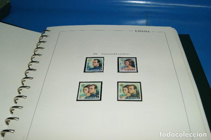 Sellos: Album de sellos de ESPAÑA edifil + de 500 sellos de España-buen estado - Foto 3 - 195109111