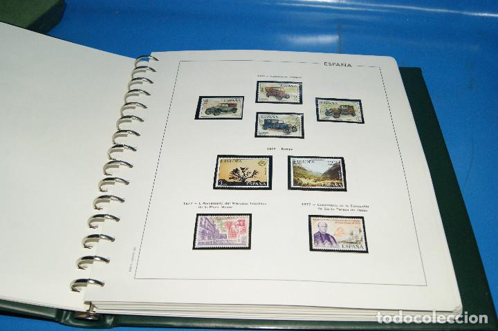 Sellos: Album de sellos de ESPAÑA edifil + de 500 sellos de España-buen estado - Foto 4 - 195109111
