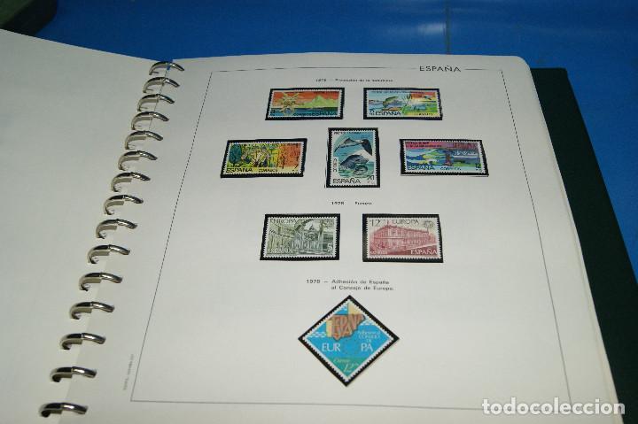 Sellos: Album de sellos de ESPAÑA edifil + de 500 sellos de España-buen estado - Foto 7 - 195109111