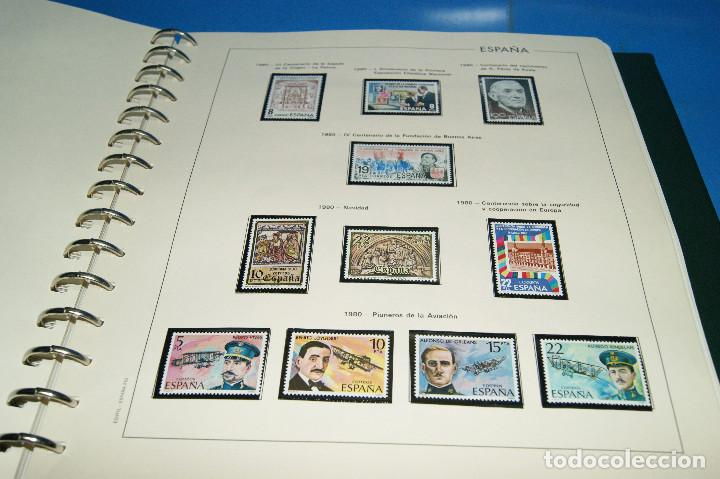 Sellos: Album de sellos de ESPAÑA edifil + de 500 sellos de España-buen estado - Foto 10 - 195109111