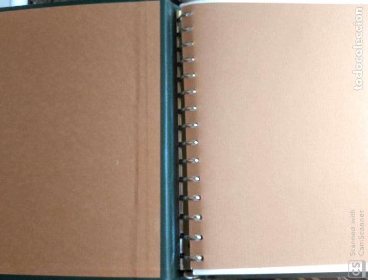 Sellos: Álbum Edifil semilujo de color verde, con título EUROPA + Hojas crema tema Europa 1993/94/95 montad - Foto 3 - 195359181