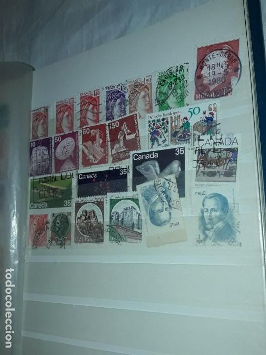 Sellos: Bello Álbum con sellos variados varias temáticas y diferentes épocas - Foto 11 - 196816855