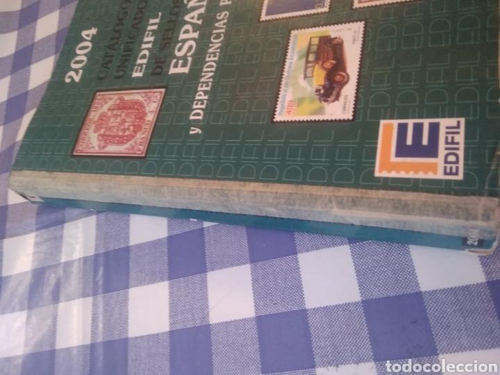 Sellos: CATALOGO UNIGICADO EDIFIL DE SELLOS DE ESPAÑA Y DEPENDENCIAS POSTALES 2004 - Foto 2 - 197220401