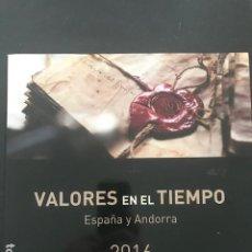 Sellos: LIBRO OFICIAL DE CORREOS AÑO 2016 VALORES EN EL TIEMPO 2016. Lote 255551535