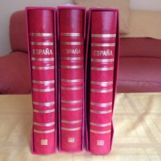 Sellos: LOTE200A, ESPAÑA, TRES ALBUM CON SUPLEMEMENTOS 1976/2000. 80% DTO.. Lote 197709636