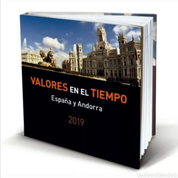 LIBRO OFICIAL DE CORREOS AÑO 2019 SIN SELLOS COMO NUEVO (FOTOGRAFÍA ESTÁNDAR) (Sellos - Material Filatélico - Álbumes de Sellos)