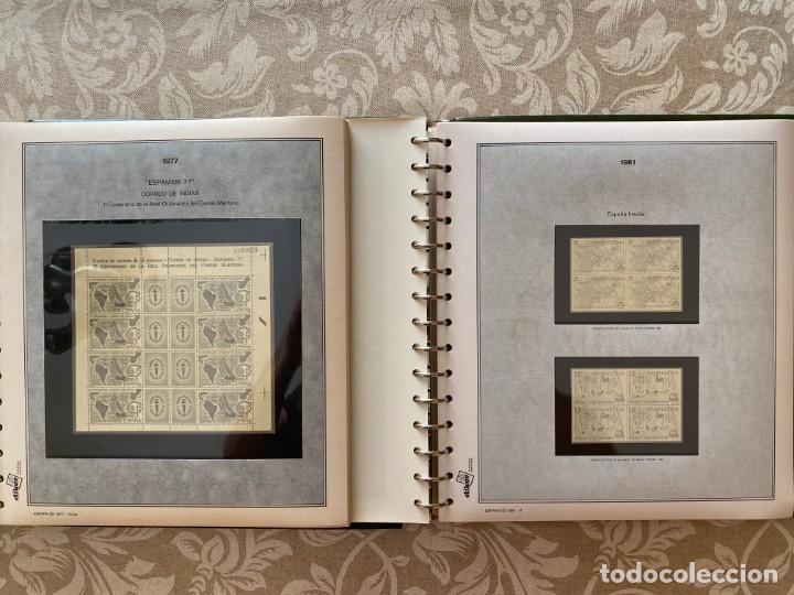 Sellos: LOTE202, ESPAÑA, CINCO ALBUM CON SUPLEMENTOS BLOQUE 4, 1976/1997, 80% DTO. - Foto 7 - 198414905