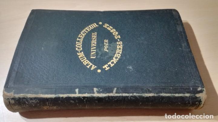 ALBUM COLLECTEUR UNIVERSEL POUR TIMBRES POSTE ORDRE GEOGRAPHIQUE PARIS CHEZ LES EDITEURS (Sellos - Material Filatélico - Álbumes de Sellos)