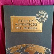 Sellos: ALBUM DE SELLOS AUTENTICOS DEL MUNDO. Lote 198921726