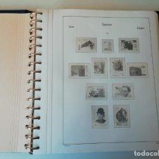Sellos: ALBUM Y HOJAS ESPAÑA 1998-2002. MATERIAL DE GRAN CALIDAD, VER DESCRIPCIÓN.. Lote 199194745