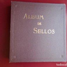 Francobolli: ALBUM DE SELLOS MARCA PUIGFERRAT A TORNILLOS SIN HOJAS. Lote 203132830