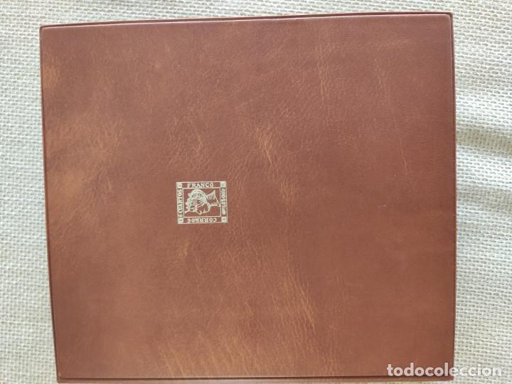 Sellos: Album sobres primer dia con 16 fundas con cartulina negra de fondo para 64 sobres - Foto 2 - 205708527