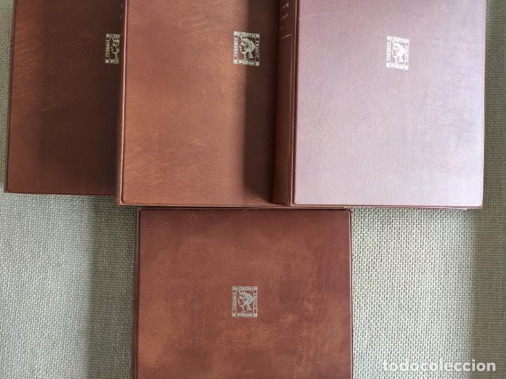 Sellos: Album sobres primer dia con 16 fundas con cartulina negra de fondo para 64 sobres - Foto 3 - 205708527