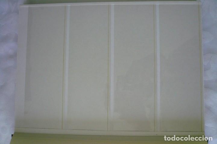 Sellos: 1 album para sellos de bloques de 4 transparente filabo 16 paginas lote 1 x - Foto 2 - 205726247