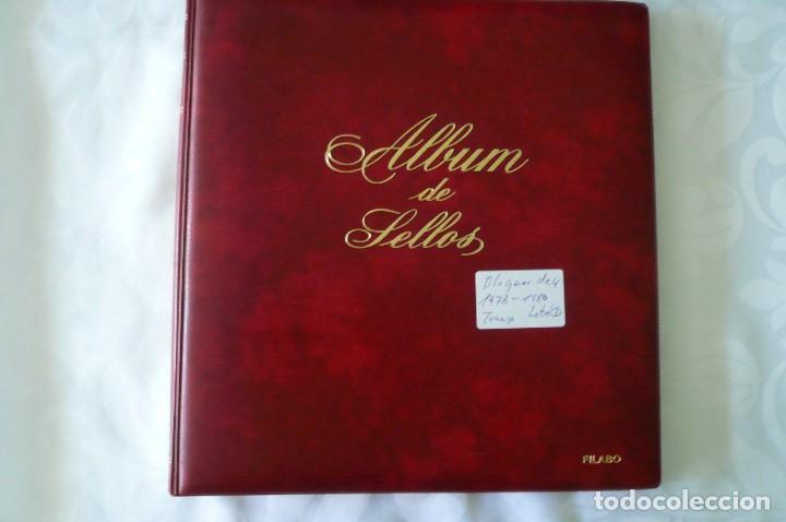 Sellos: 1 album para sellos de bloques de 4 montado transparente filabo 1978-1980 lote 2 x sin sellos - Foto 2 - 205726825