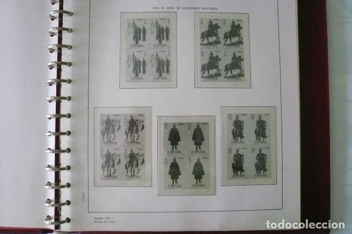 Sellos: 1 album para sellos de bloques de 4 montado transparente filabo 1978-1980 lote 2 x sin sellos - Foto 4 - 205726825