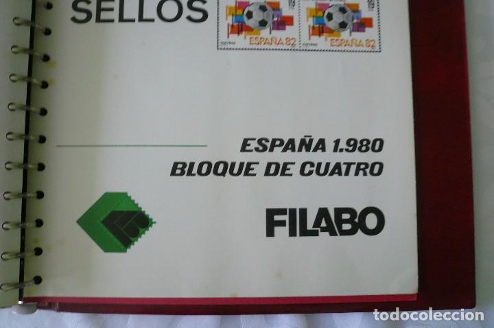 Sellos: 1 album para sellos de bloques de 4 montado transparente filabo 1978-1980 lote 2 x sin sellos - Foto 5 - 205726825