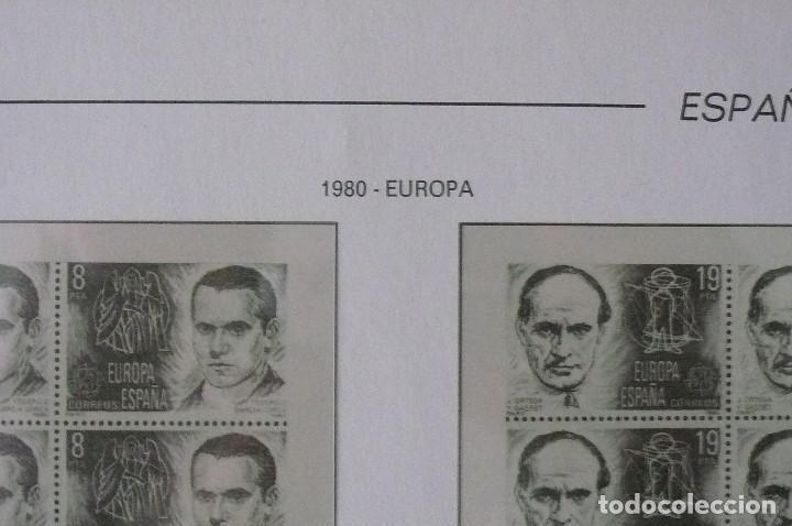 Sellos: 1 album para sellos de bloques de 4 montado transparente filabo 1978-1980 lote 2 x sin sellos - Foto 6 - 205726825