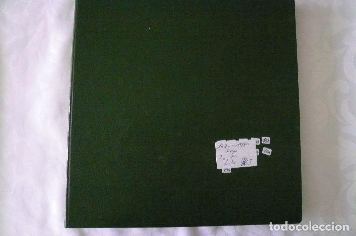 Sellos: 1 album para sellos 1970-1980 montado en negro edifil 74 paginas lote 3 x - Foto 2 - 205727407