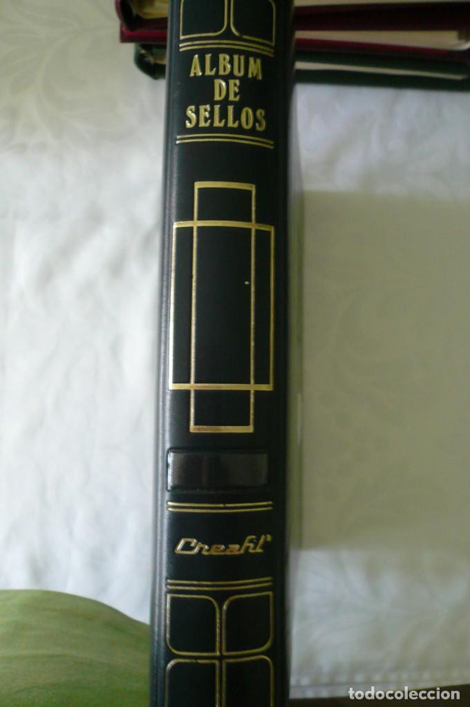 1 ALBUM PARA SELLOS 1991 -1996 MONTADO EN NEGRO FILABO 56 PAGINAS LOTE 4 X SIN SELLOS (Sellos - Material Filatélico - Álbumes de Sellos)