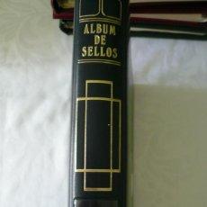 Sellos: 1 ALBUM PARA SELLOS 1991 -1996 MONTADO EN NEGRO FILABO 56 PAGINAS LOTE 4 X SIN SELLOS. Lote 205727987