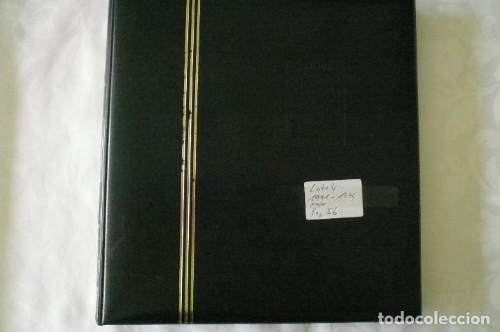 Sellos: 1 album para sellos 1991 -1996 montado en negro filabo 56 paginas lote 4 x sin sellos - Foto 2 - 205727987