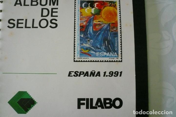 Sellos: 1 album para sellos 1991 -1996 montado en negro filabo 56 paginas lote 4 x sin sellos - Foto 3 - 205727987