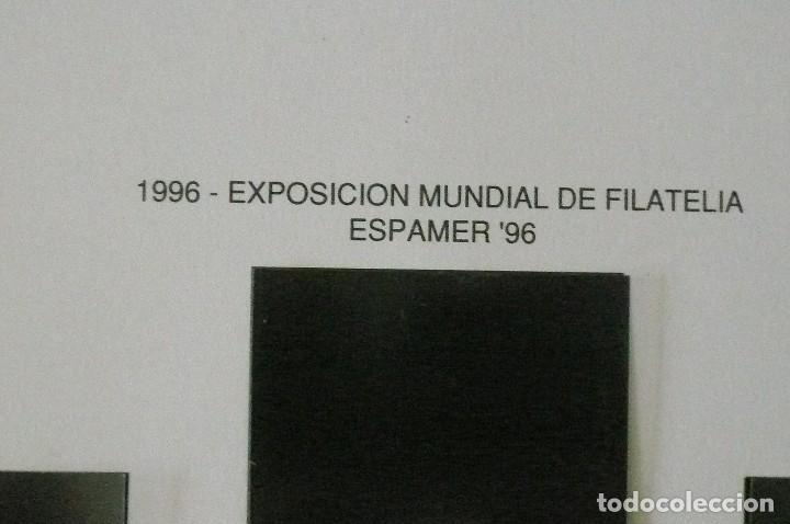 Sellos: 1 album para sellos 1991 -1996 montado en negro filabo 56 paginas lote 4 x sin sellos - Foto 4 - 205727987