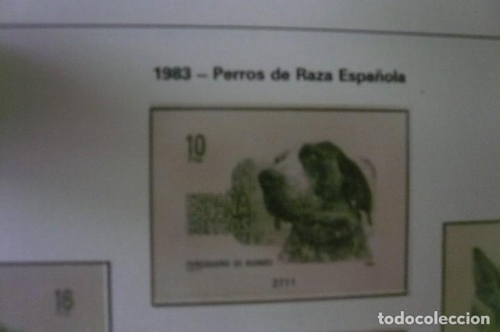Sellos: 1 album para sellos 1976 -1983 montado en transparente edifil 67 paginas lote 5 x sin sellos - Foto 4 - 205728468