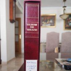 Sellos: ALBUM CON HOJAS TORRES SEMI MOTADAS, AÑOS COMPLETOS 1968 AL 1975, CON ALGUNOS SELLOS MATADOS. Lote 206221921
