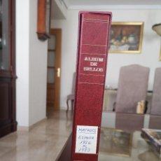 Sellos: ALBUM CON HOJAS TORRES SEMI MOTADAS, AÑOS COMPLETOS 1976 AL 1983, CON ALGUNOS SELLOS MATADOS. Lote 206222561