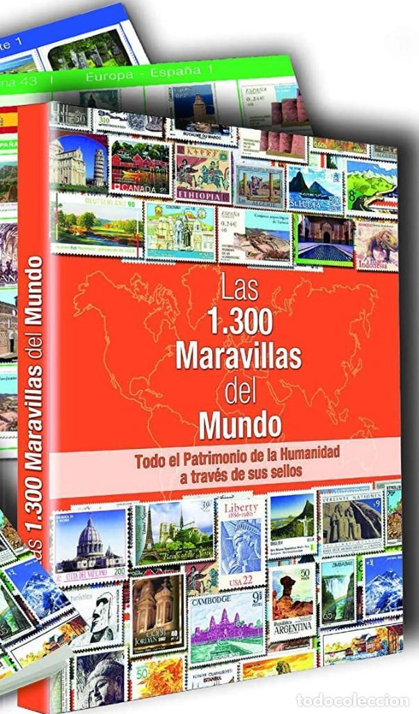 Sellos: Las 1.300 Maravillas del Mundo. Todo el patrimonio de la humanidad a través de sus sellos - Foto 2 - 206826348