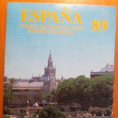 Sellos: ALBUM CARPETA DE SELLOS EMITIDO POR CORREOS PARA LAS EMISIONES DE 1989. Lote 206975641