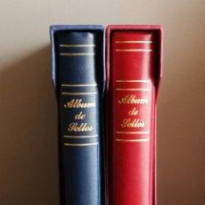Sellos: 2 ALBUNES DE 15 ANILLAS USADOS EN BUEN ESTADO (FOTOGRAFÍA REAL). Lote 207125340