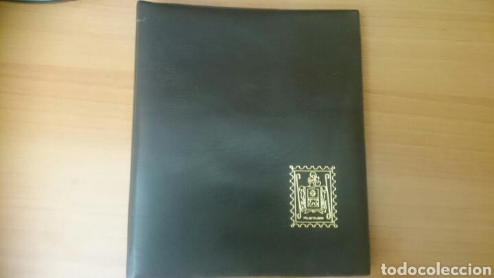 ALBUM PARA SELLOS, FILATELICO, 4 ANILLAS,,20X 23 CM. CON 6 HOJAS,SIN USAR (Sellos - Material Filatélico - Álbumes de Sellos)