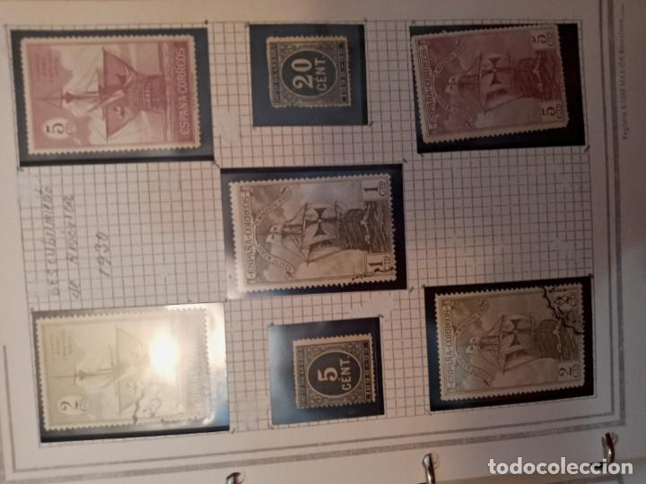 Sellos: Colección de sellos 1916 hasta 1971 - Foto 3 - 210207005