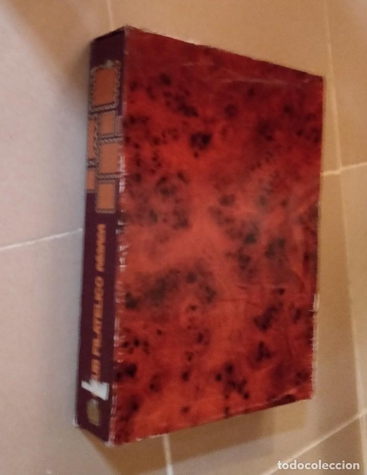 Sellos: Album para sellos del Club Filatelico Reiper con estuche artesano (no tiene hojas) - Foto 5 - 210710502