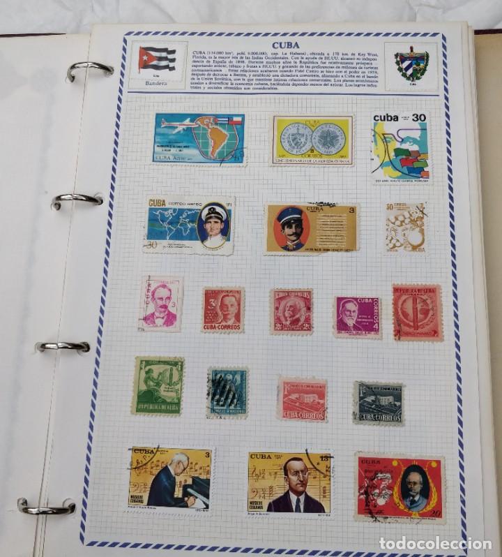 Sellos: Álbum de sellos de America. 766 sellos usados diferentes de 21 paises - Foto 4 - 210754949