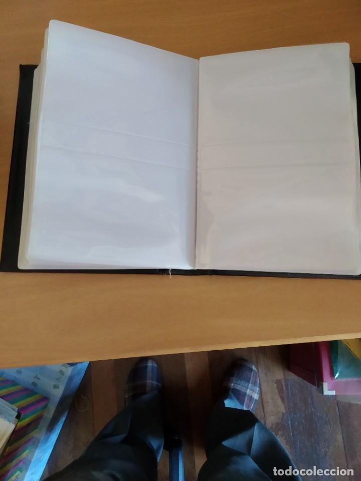 Sellos: Album para Tarjetas Maximas o postales en piel para 200 piezas.Medidas 26 X 18 cms. Precio por unida - Foto 3 - 217915766