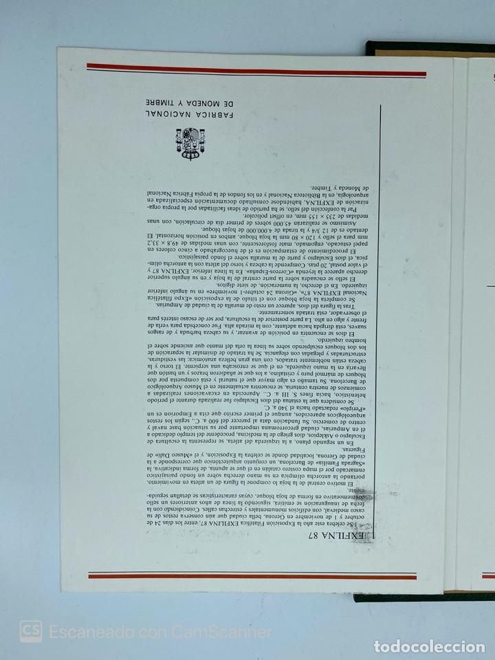 Sellos: ALBUM DE SELLOS CON SOBRES DE PRIMER DIA DE CIRCULACION Y HOJAS BLOQUE A PARTIR DEL AÑO 2001.VER - Foto 42 - 219838545