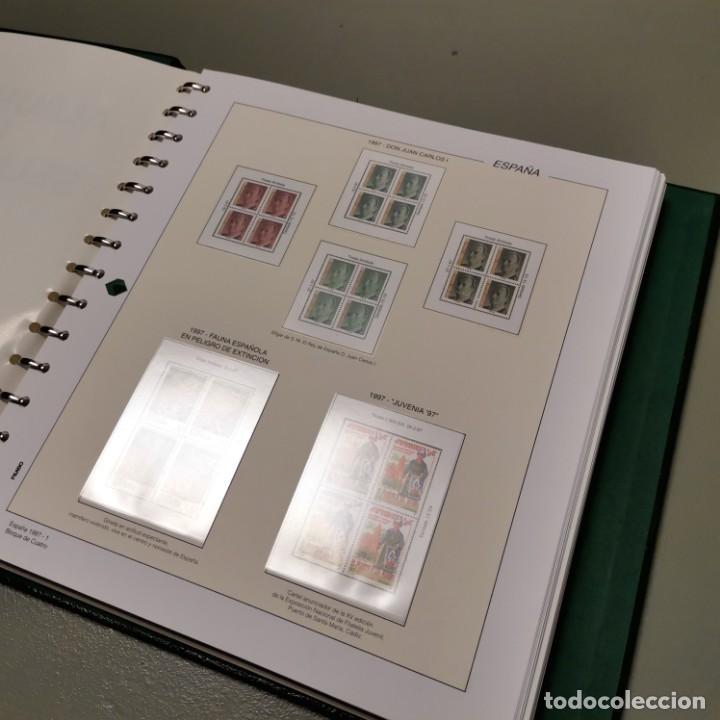 Sellos: NUMULITE E0105 Álbum de sellos Filabo Hojas Bloque de cuatro 4 con habby año 1997 1998 1999 2000 - Foto 2 - 220540383