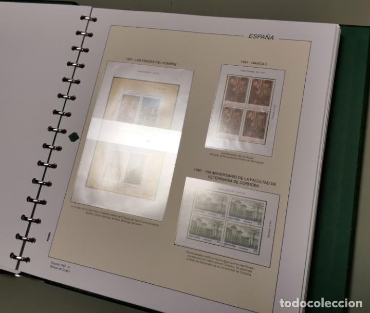 Sellos: NUMULITE E0105 Álbum de sellos Filabo Hojas Bloque de cuatro 4 con habby año 1997 1998 1999 2000 - Foto 3 - 220540383