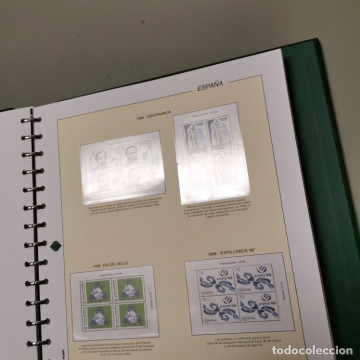 Sellos: NUMULITE E0105 Álbum de sellos Filabo Hojas Bloque de cuatro 4 con habby año 1997 1998 1999 2000 - Foto 4 - 220540383