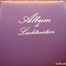 Sellos: ALBUM PARA SELLOS CON CAJETIN IMITACION A PIEL DE LIECHTENSTEIN DE FILABO. Lote 221104621