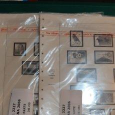 Sellos: SAFE HOJAS ESPAÑA AÑO COMPLETO 245/56 PARA COLOCAR SELLOS MARCA ALEMANIA. Lote 223918050